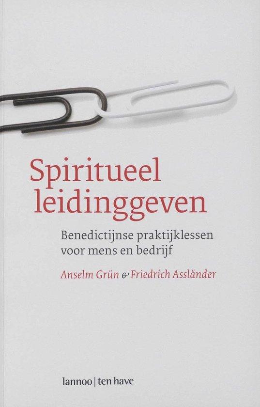 Cover van het boek 'Spiritueel leidinggeven'