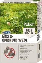 Pokon Mos en Onkruid Weg! - Duoverpakking - Voor 25m²