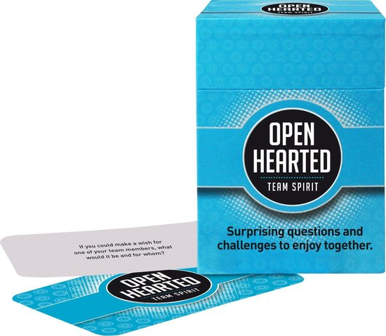 Openhearted Team Spirit (Engelstalige versie van Openhartig Team Spirit)
