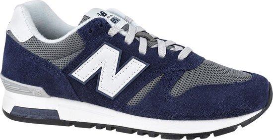 New Balance ML565CPC, Mannen, Marineblauw, Sneakers maat: 44 EU