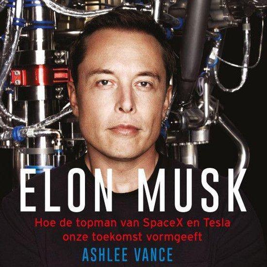 Boek cover Elon Musk van Ashlee Vance (Onbekend)