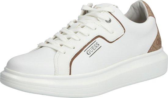 Guess Salerno Heren Sneaker - Beige/Bruin - Maat 45