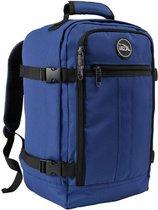 CabinMax Metz – Handbagage 20L – Rugzak – Schooltas - 40x25x20 cm – Compact Reistas – Lichtgewicht – Atlantic Blauw