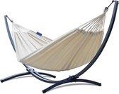Hangmat met standaard – 2 persoons – EXTRA STABIEL frame tot 220 kg – Hangmatsets - Grande