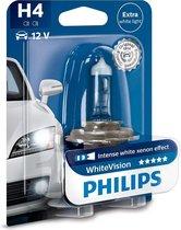 Philips WhiteVision 3700k blister 1 lamp - H4
