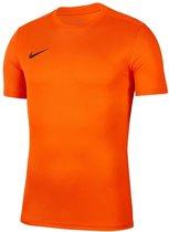 Nike Park VII SS Sportshirt - Maat L  - Mannen - oranje