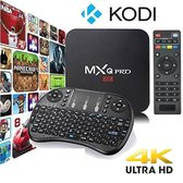 MxQ PRO 4k Android 7.1 S905W tv box Kodi 17.4 - Met De Nieuwste Software - 2018 Model + GRATIS I8 Backlight Draadloze Toetsenbord