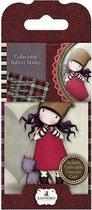 Gorjuss: Collectable Mini Rubber Stamp - Santoro - No. 10 Purrrrrrfect Love (GOR 907310)