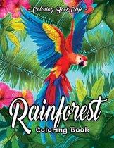 Rainforest Coloring Book