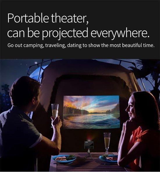 Mini Beamer – Pocket Projector – Draagbare Projector – Compacte LED Beamer – Geschikt voor Presentaties/Films/Games