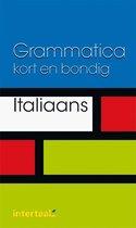 Grammatica kort en bondig Italiaans