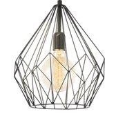 EGLO Carlton Hanglamp - E27 - Ø 31 cm - Zwart
