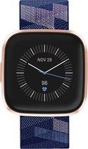 Fitbit Versa 2 SE - Smartwatch - Koper met blauw
