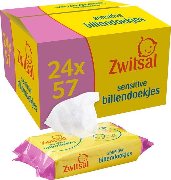 Zwitsal Baby Billendoekjes Sensitive - 1368 stuks - Voordeelverpakking