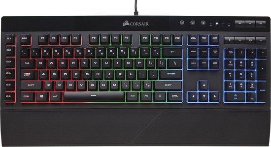 Corsair K55 RGB - Qwerty - Membraan Gaming Toetsenbord
