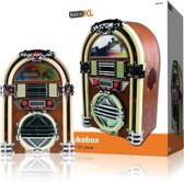 Basic XL, Retro Jukebox met AM/FM radio en CD-speler