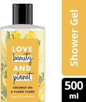 Love Beauty and Planet Douchegel Coconut Oil & Ylang Ylang - 500 ml
