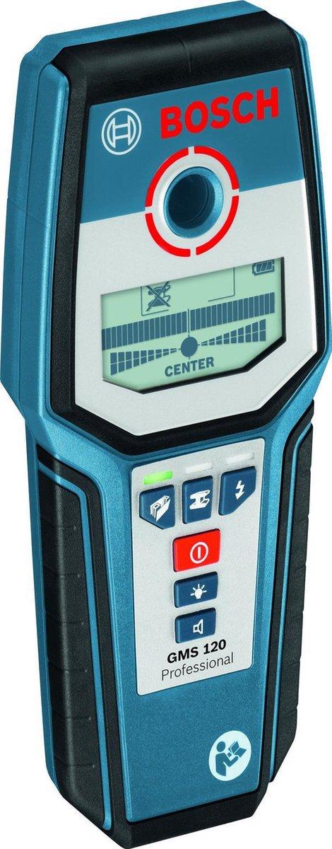 BOSCH PROFESSIONAL Leidingzoeker GMS120 - Professional - Detector