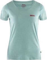 Fjallraven Logo Outdoorshirt Dames - Clay Blue-Melange - Maat XS