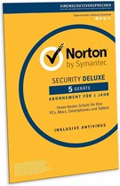 Norton Security Deluxe 2019 - 5 apparaten - 1 jaar