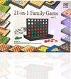Afbeelding van het spelletje 3BMT - Familiespel 21-in-1 - strategische bordspellen - alles-in-1