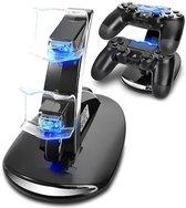 Creartix Oplaadstation voor Playstation 4 Controller - Dubbele PS4 oplader - PS4 controller oplader - Oplaadstation PS4 - PS4 oplader