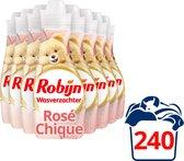 Robijn Rosé Chique Wasverzachter - 8 x 30 wasbeurten - Voordeelverpakking