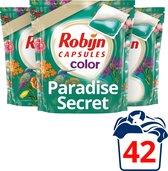 Robijn Paradise Secret Duocaps Wasmiddel - 3 x 14 wasbeurten - Voordeelverpakking