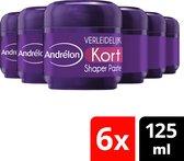 Andrélon Styling Shaper Verleidelijk Kort - 6 x 125 - ml Voordeelverpakking