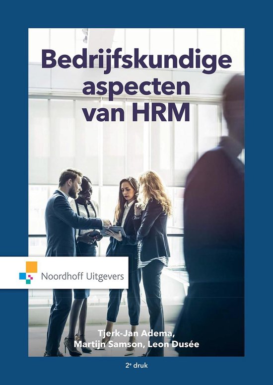 Bedrijfskundige aspecten van HRM - Tjerk-Jan Adema |