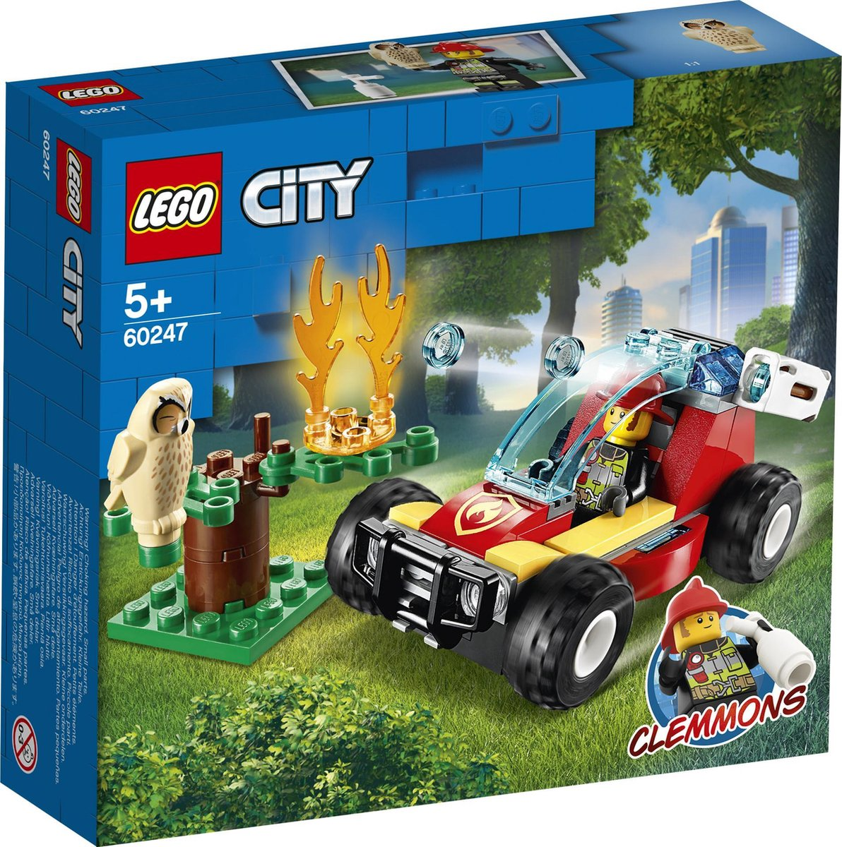 60247 Lego City Bosbrand