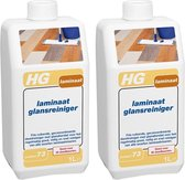 HG Laminaat Glansreiniger - 1000 ml - 2 Stuks
