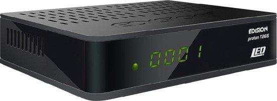 Edision Proton T265 LED DVB-T2/C Ontvanger