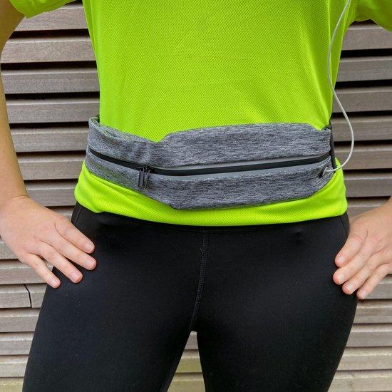Etravel Sport Heuptas - Running Belt - One Size (verstelbaar) - Hardloopriem - Smartphone houder - Comfort Elastic