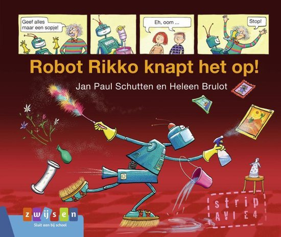 Zomerlezen - Robot Rikko knapt het op! - Jan Paul Schutten |