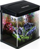 Nobleza aquarium - 7L - 23x16x27.5 cm - zwart
