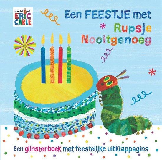 Boekomslag voor Rupsje Nooitgenoeg - Een feestje met Rupsje Nooitgenoeg