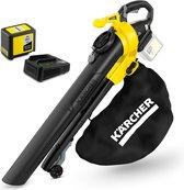 Kärcher Accu Bladblazer / zuiger BLV 36-240 inclusief starterpack oplader& Accu 36/50 - 36 Volt - 550 m2 - 75L opvangzak - versnipperaar