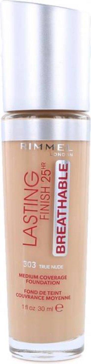 Rimmel Lasting Finish Foundation True Nude 303   Make Up