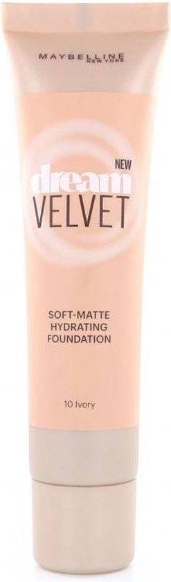 Maybelline Dream Velvet Foundation – 10 Ivory