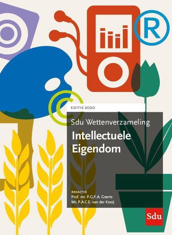 Boek cover Sdu wettenverzameling  -  Sdu Wettenverzameling Intellectuele Eigendom 2020 van  (Paperback)