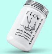 flow stim free - pre workout - zero caffeine - geen stimulanten - 30 doseringen - 300 gram-