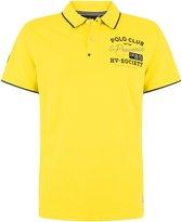 HV Society Korte mouw Polo shirt - 0403103137-Toby Geel (Maat: XXL)
