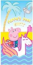 Peppa pig strandlaken pool party