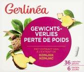 Gerlinea Gewichtsverlies Afslanksupplement - Konjak - 36 tabletten