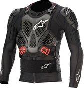 Alpinestars Bionic Tech V2 Protection Black Red Textile Motorcycle Jacket S