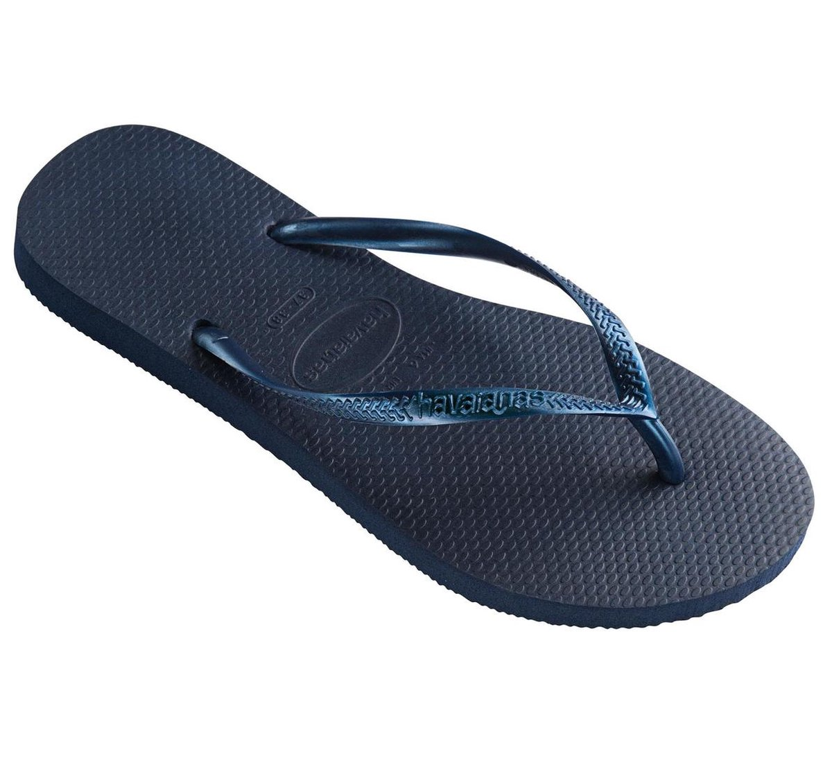 Havaianas Slim Dames Slippers - Navy Blue - Maat 41/42