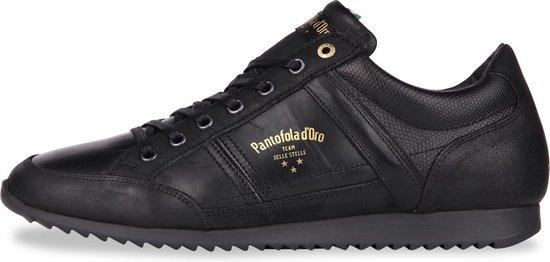 Pantofola d'Oro - Heren Sneakers Matera Uomo Low Triple Black - Zwart - Maat 41
