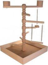 Trixie Speelplaats Voor Vogels- Vogelspeelgoed - Hout - 41 x 41 x 55 cm
