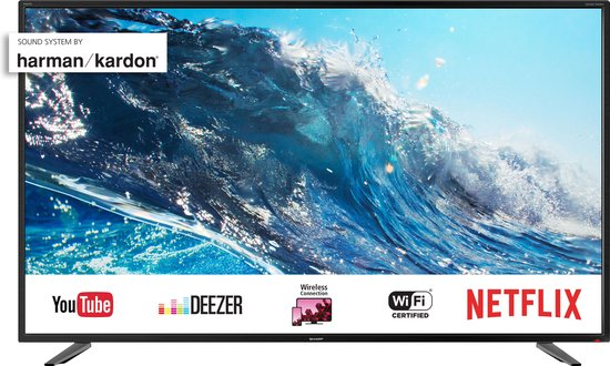 Sharp Aquos 40BJ2E | 40inch | 4K Ultra-HD | Smart-TV